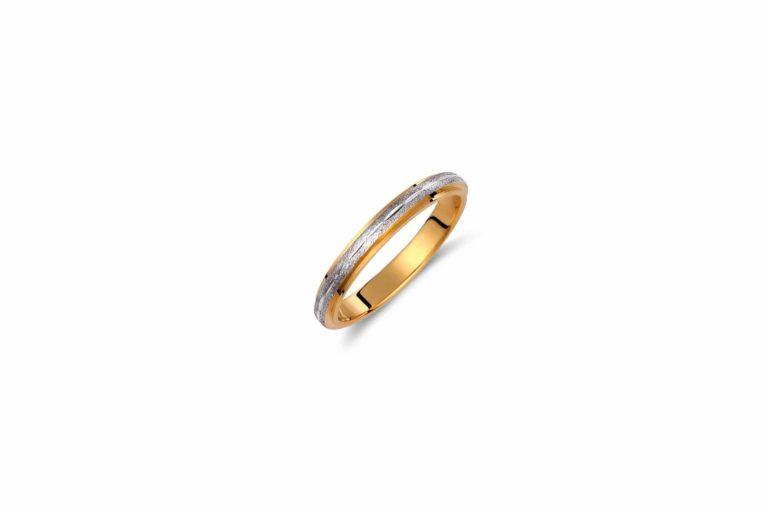 7930ΔΧ Βέρα Ζαγρέ Κίτρινος & Λευκός Χρυσός 14Κ