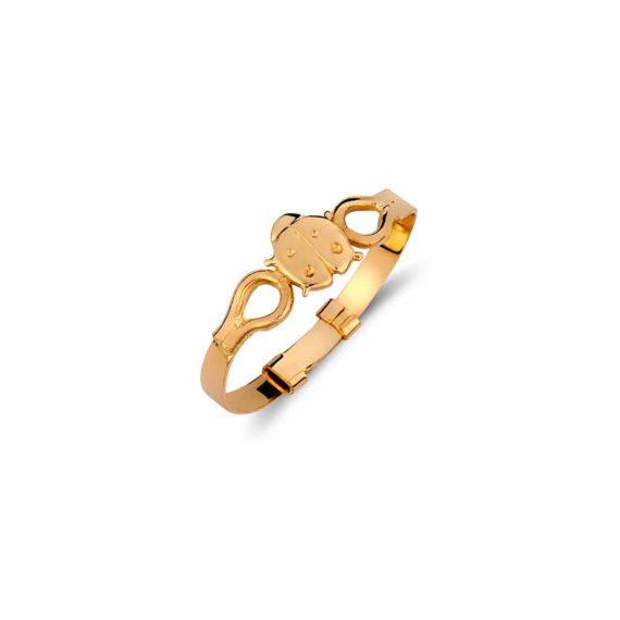Δαχτυλίδι Πασχαλίτσα Παιδικό Χρυσό Για Κορίτσι 002029