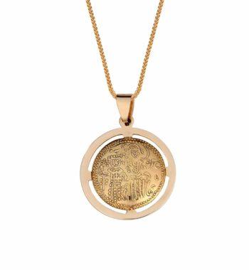 F01 001 Φυλαχτό Κωνσταντινάτο Χρυσός