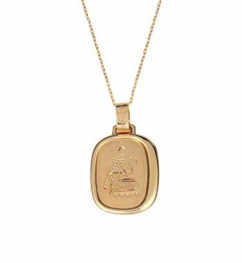 Z03 003 Ζώδιο Χρυσός Παραλληλόγραμμο