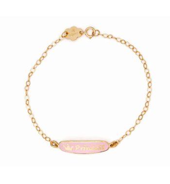 002269 Βραχιόλι Princess Χρυσό