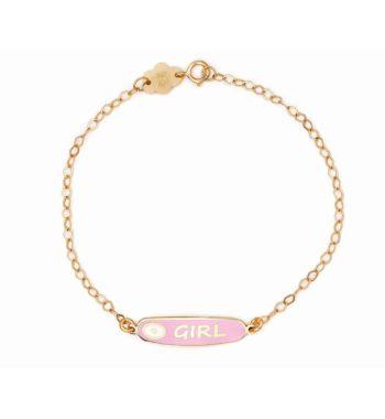 002271 Βραχιόλι Girl Χρυσό