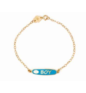 002273 Βραχιόλι Boy Χρυσό