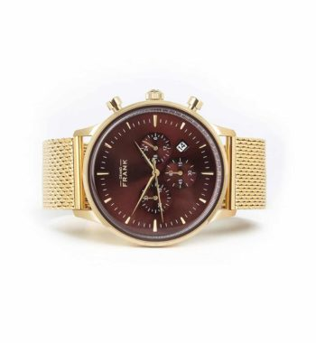 002304 Grand Frank Kinsale Gold Chronograph