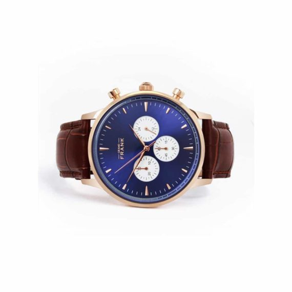 002306 Grand Frank Montpellier Blue Chronograph