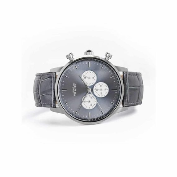002308 Grand Frank Montpellier Stone Grey Chronograph
