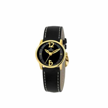 Festina Black Και Gold Women's Watch – F16246/5