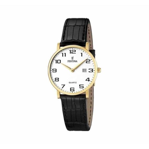 F16479 1 Festina Classic Ladies Gold Black
