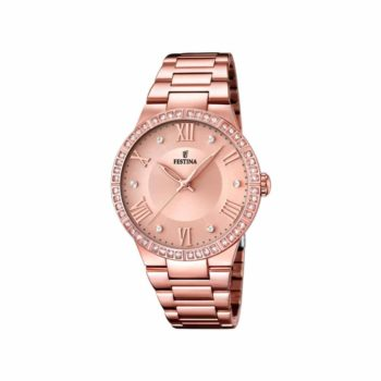 F16721 2 Festina Crystals Rose Gold Stainless (1)
