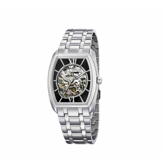 F6755 2 Festina Automatic Skeleton Open Front And Back