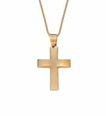002416 Σταυρός Χρυσός Πομπέ