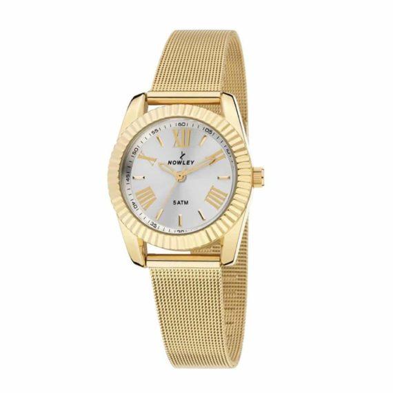 8 5589 0 1 Nowley Ladies' Watch Gold Stainless Steel Bracelet