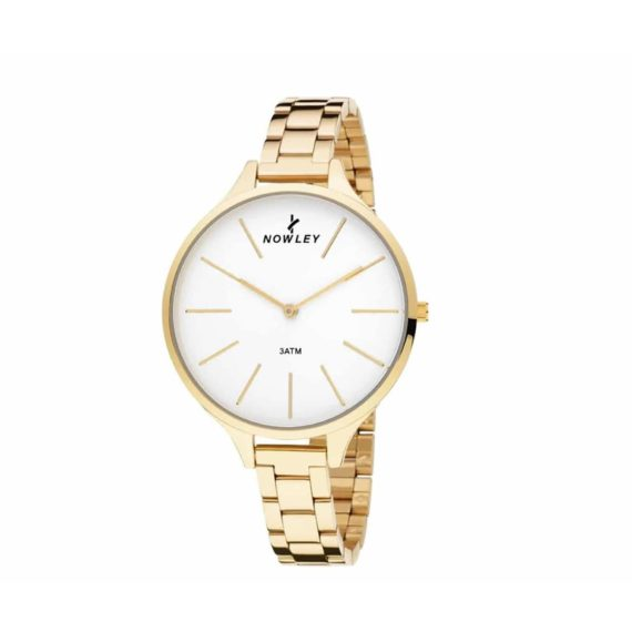 8 5592 0 1 Nowley Gold Stainless Steel Bracelet