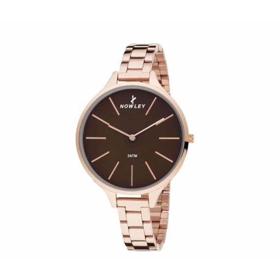 8 5593 0 2 Nowley Rose Gold Stainless Steel Bracelet