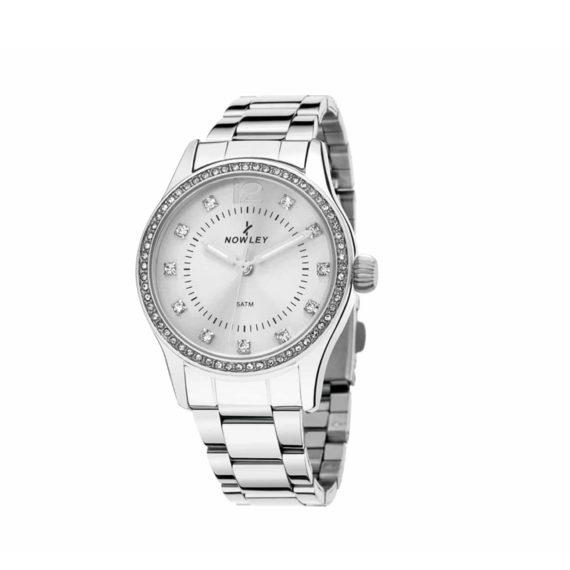 8 5659 0 0 Nowley Crystals Stainless Steel Bracelet