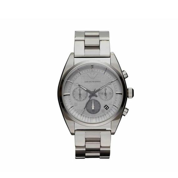 Ar 0375 Emporio Armani Stainless Steel Chronograph