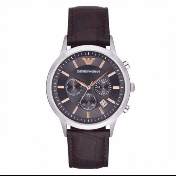 AR 2513 Emporio Armani Renato Grey Dial Men's Chronograph Watch