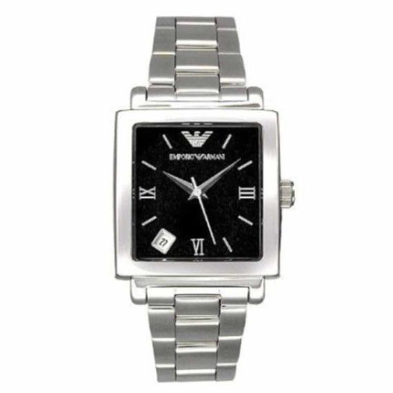 AR 5304 Emporio Armani Silver Bracelet Square Watch