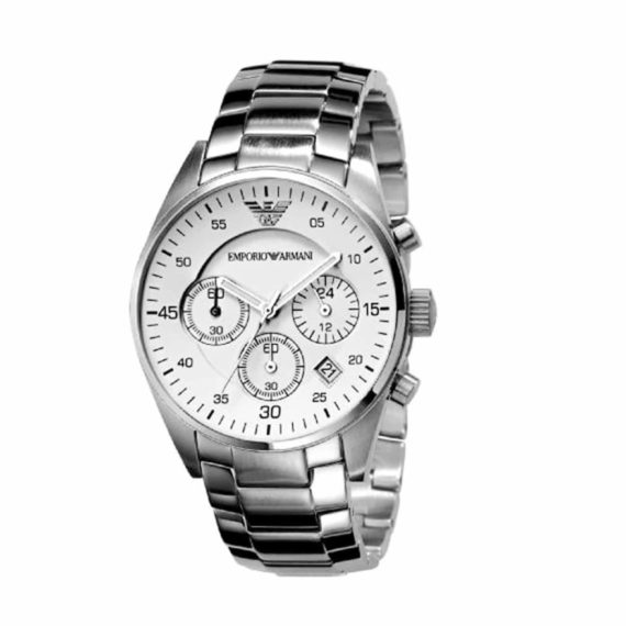 AR 5869 Emporio Armani Men's Stainless Steel Chronograph Watch