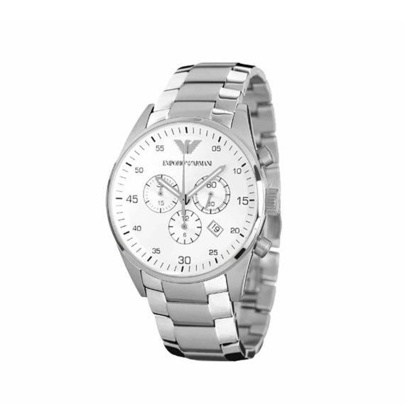Ar 5963 Emporio Armani Sportivo Stainless Steel Chronograph