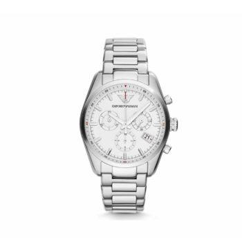 Ar 6013 Emporio Armani Sportivo Stainless Steel Bracelet Chronograph