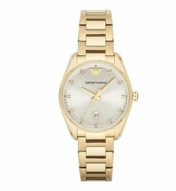AR 6064 Emporio Armani Ladies' Classic Gold Stainless Steel