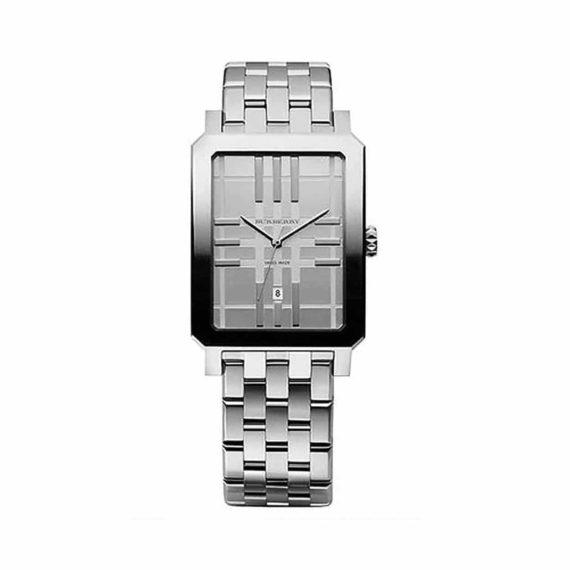 Bu1900 Burberry Engraved Dial Silver Steel Men Watch E1554320997283 1
