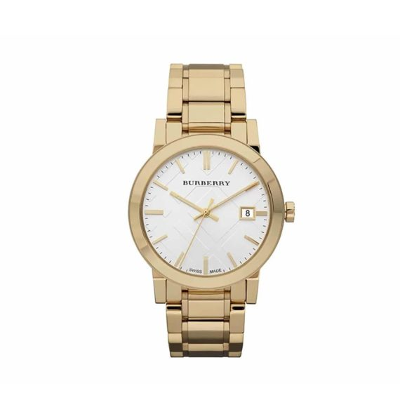 Bu9003 Burberry Rose Gold Stainless Steel Bracelet