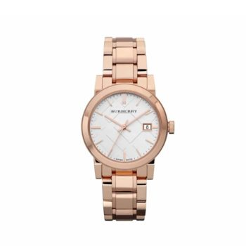 Bu9104 Burberry Rose Gold Stainless Steel Bracelet