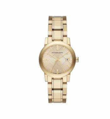 BU9134 Burberry Light Champagne Dial Light Gold Tone Ladies' Watch