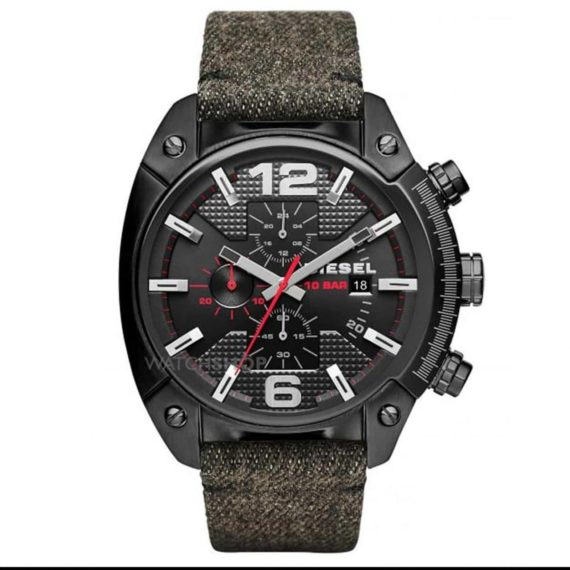 DZ4373 DieselOverflow Black Dial Men's Chronograph Watch
