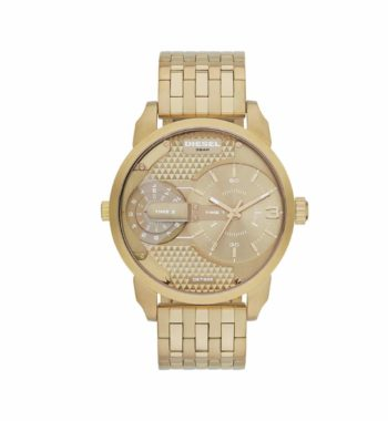DZ7306 Diesel Mini Daddy Champagne Dial Gold Tone Men's Watch