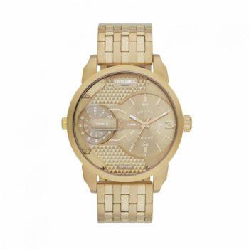 DZ7306 Diesel Mini Daddy Champagne Dial Gold Tone Men's Watch