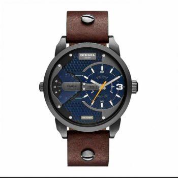 DZ7339 Diesel Mini Daddy Blue Textured Dial Quartz Men's Watch