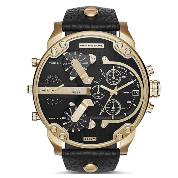 DZ7371 Diesel Mr. Daddy 2.0 Black Dial Men's Chronograph Watch