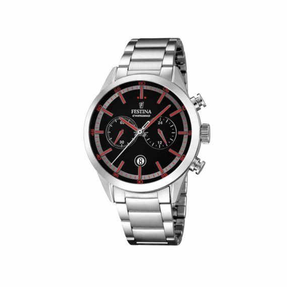 F16826 6 Festina Stainless Steel Chronograph