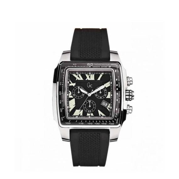 I30007g2 Gc Guess Black Leather Watch Strap E1554320262898