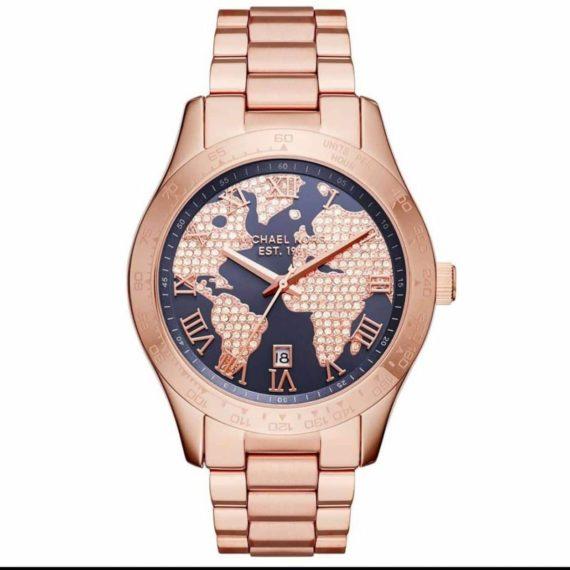 MK6395 Michael Kors Rose Gold Layton Watch