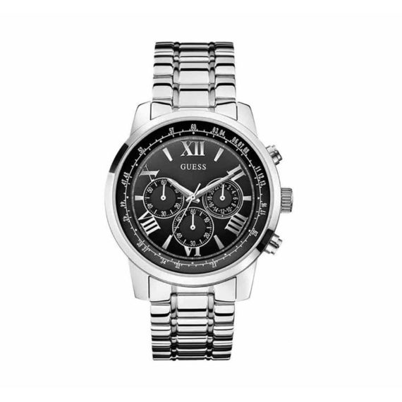 W0379g1 Guess Horizon Stainless Steel Chronograph