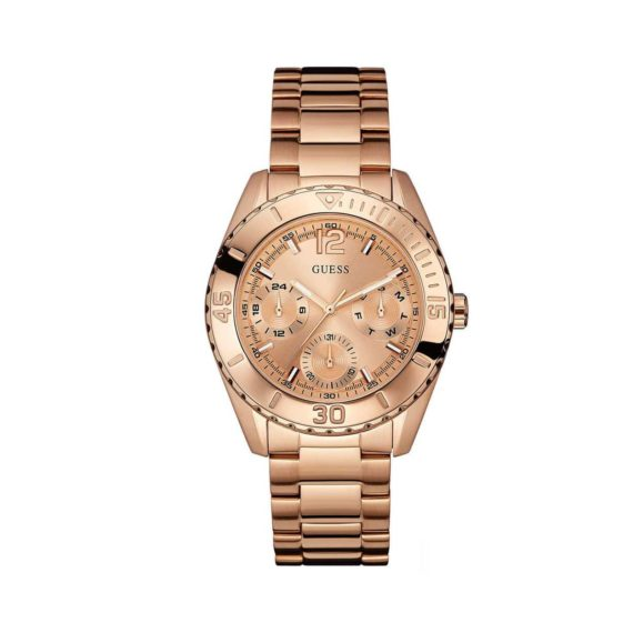 W0633l2 Guess Ladies Multi Function Rose Gold Stainless Steel Bracelet