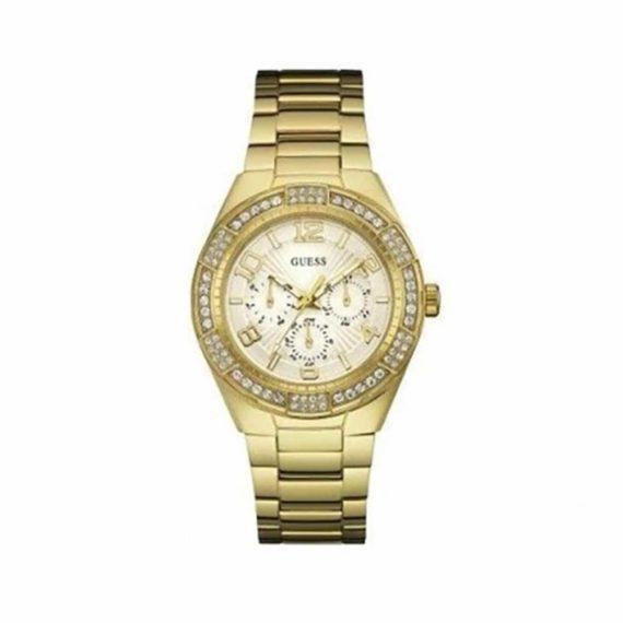 W0729L2 Guess Luna Gold Tone Ladies' Watch