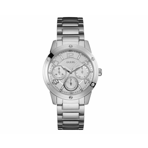 W0778l1 Guess Crystals Multi Function Stainless Steel Bracelet