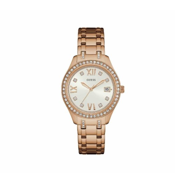 W0848l3 Guess Rose Gold Stainless Steel Bracelet
