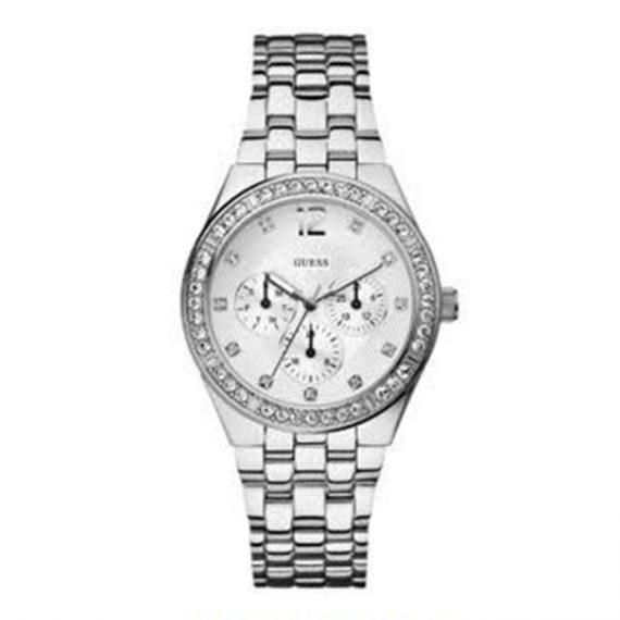 W14556L1 Guess Steel Calendar Crystal Watch