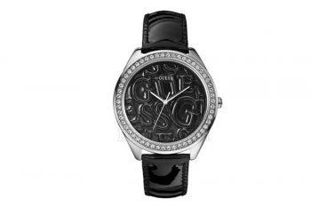 W85098L4 Guess Black Strap Logo Watch