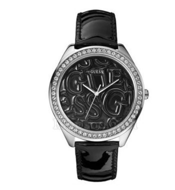 W85098L4 Guess Black Strap Logo Watch