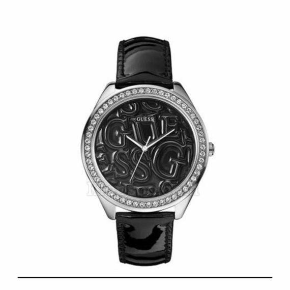 W85098l4 Guess Black Strap Logo Watch E1554318708668