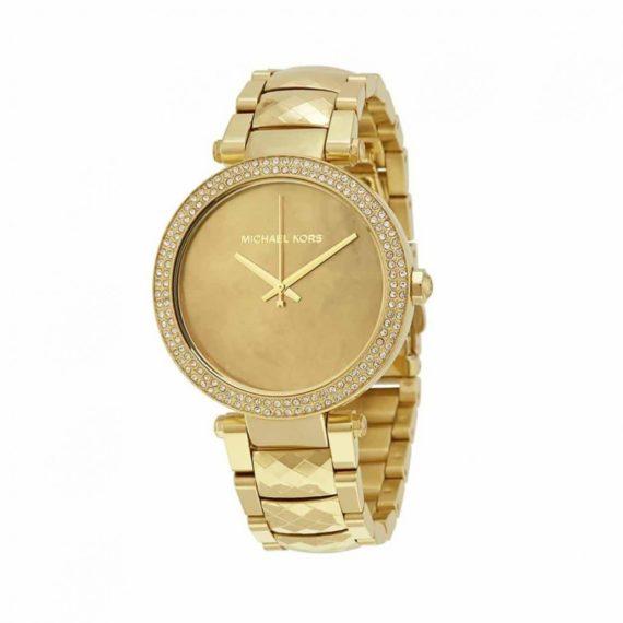 Michael Kors Parker Stainless Steel Gold Watch MK6425