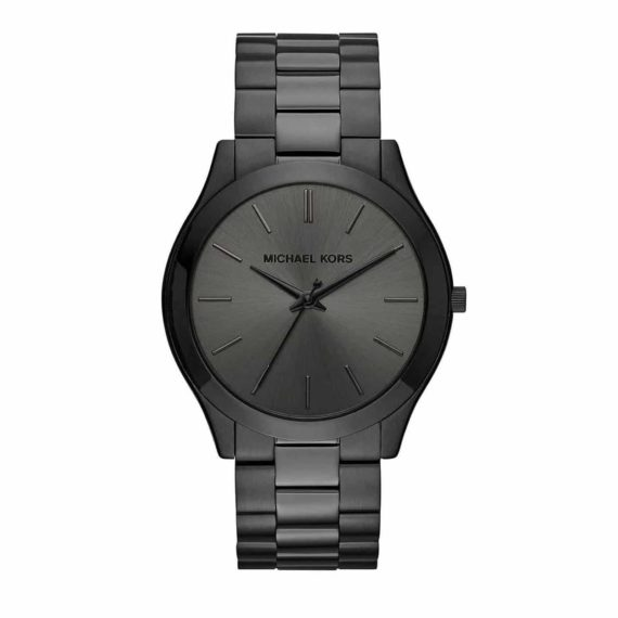 Michael Kors Slim Runway Black Watch ΜΚ8507