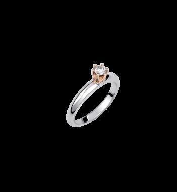 Μονόπετρο Δαχτυλίδι Με Μπριγιάν Διαμάντι 002443